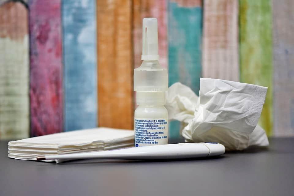 Medicines and napkins for flue
